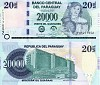 Paraguayan bank note - click to enlarge